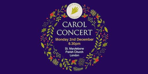 Carol Concert at  St. Marylebone  Parish Church - Horatio's Garden Charity