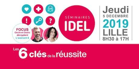 Les séminaires IDEL - Les 6 clés de la Réussite billets