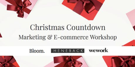 99 Days Christmas Countdown | Marketing & E-commerce Workshop tickets