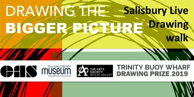 Drawing the Bigger Picture - Salisbury Live Drawing Walk