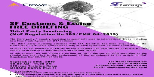 SFGroup Customs & Excise Free Morning Briefing
