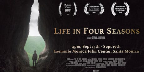 Life In Four Seasons, THE SHORT FILM THAT INSPIRED A NATION, SCREENS FOR SEVEN DAYS ONLY AT LAEMMLE THEATRE tickets