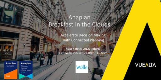 Anaplan - Breakfast in the Clouds