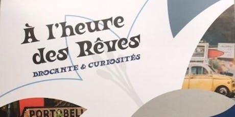 Inauguration A l'Heure des Rêves billets