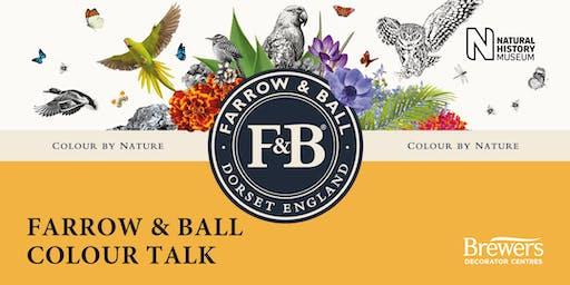 Farrow & Ball Colour Talk at Brewers Stratford-Upon-Avon
