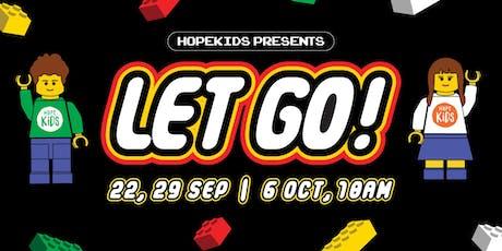 LET GO! - Free Lego Craft activity tickets