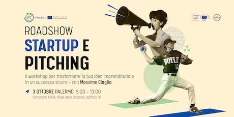 Startup e Pitching incontro con Massimo Ciaglia ad biglietti