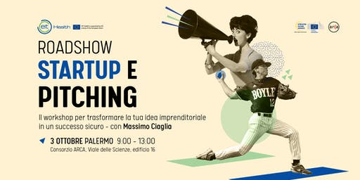 Startup e Pitching incontro con Massimo Ciaglia ad ARCA