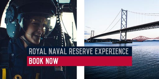 Royal Naval Reserve Experience - HMS Scotia, Rosyth 14/11/2019