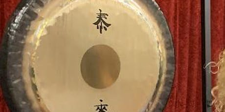 Gong bath and sound Journey: Camden Town, London tickets