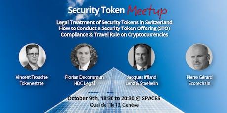 Security Token Meetup billets