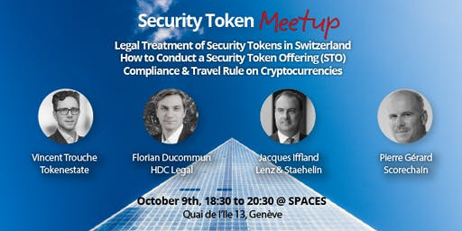 Security Token Meetup
