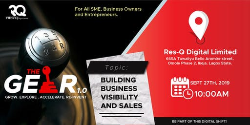 GEAR 1.0 - BUILDING BUSINESS VISIBILITY AND SALES