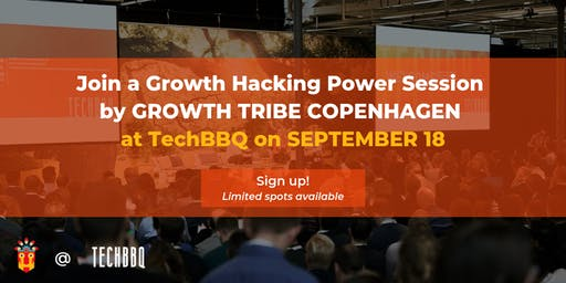 Growth Hacking Power Session by Growth Tribe at TechBBQ