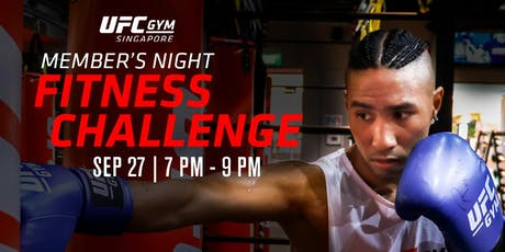 (PUBLIC) UFC Gym Singapore: Ultimate Fitness Challenge tickets