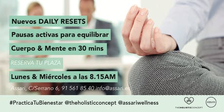 Daily Resets by The Holistic Concept tickets