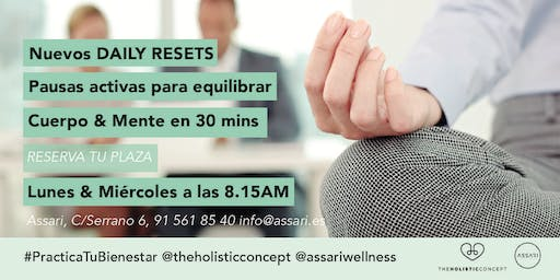 Daily Resets by The Holistic Concept