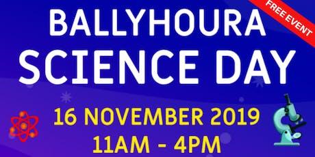 Ballyhoura Science Day tickets