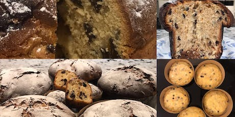 Christmas baking workshop; learn to make traditional Panettone and other festive treats tickets