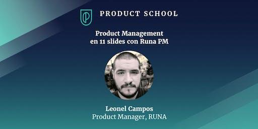 Product Management en 11 slides con Runa PM