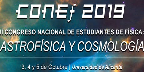 CONGRESO NACIONAL DE ESTUDIANTES DE FÍSICA 2019 entradas