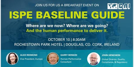 CAI Breakfast Event - ISPE Baseline Guide tickets