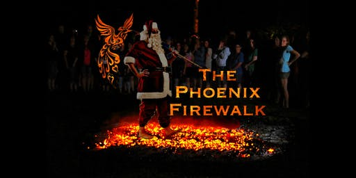 Charity Santa Firewalk 2019