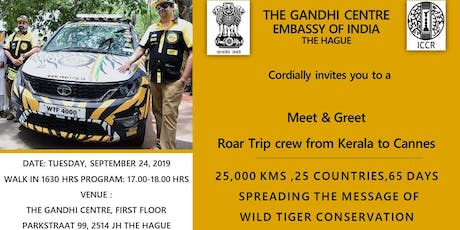 Meet & Greet - Roar Trip Crew from Kerala to Cannes tickets