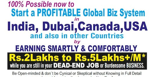 BEST PROVEN PROFITABLE BUSINESS to START in INDIA & get FREE* VISIT to USA