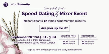 Singled Out: Speed Dating & Mixer Event tickets