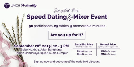 Singled Out: Speed Dating & Mixer Event