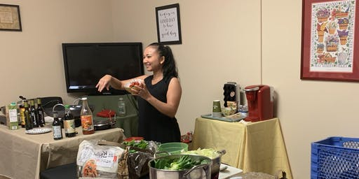 VEGETABLE SPRING ROLLS & FRIED RICE  COOKING DEMO WITH CHEF CHANTHY
