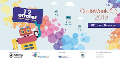 CodeWeek 2019 - CoderDojo Roma SPQR biglietti