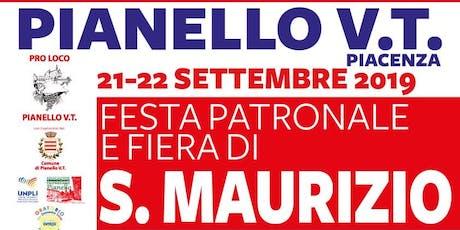 Festa Patronale e Fiera di San Maurizio biglietti