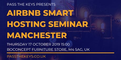 Airbnb Smart Hosting Seminar - Manchester tickets