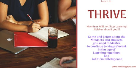 Thrive in a world dominated by Smart Machines and Intelligent Algorithms  tickets