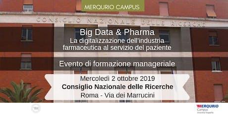 La digitalizzazione dell'industria farmaceutica al servizio del paziente biglietti