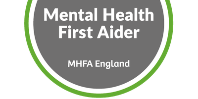 Mental Health First Aider:   Youth - 2 days