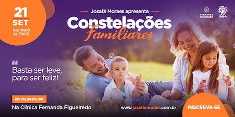 CONSTELAÇÃO FAMILIAR COM JOSAFÁ MORAES em Valinhos (workshop) tickets