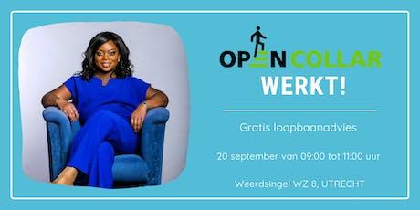 Open Collar werkt! Gratis loopbaanadvies + LinkedIn foto!  tickets
