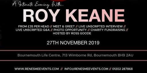 An intimate Evening to Remember with Roy Keane