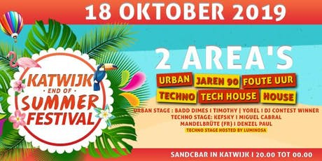 Katwijk end of summer indoor Festival tickets