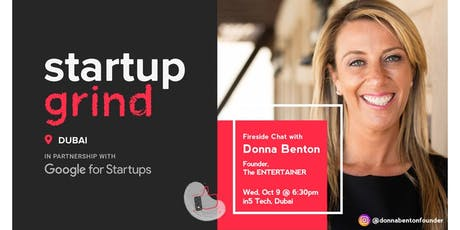 Startup Grind hosts Donna Benton - Founder, The Entertainer tickets