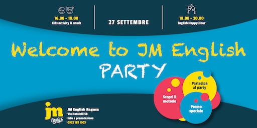 Welcome to JM English PARTY - Ragusa