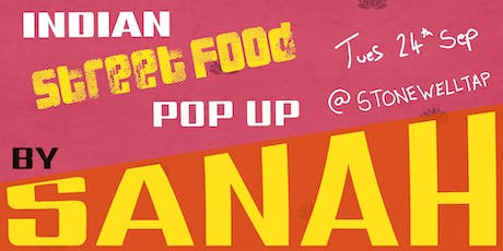 Indian Street Food Pop Up tickets