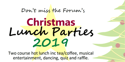 Xmas Lunch Parties