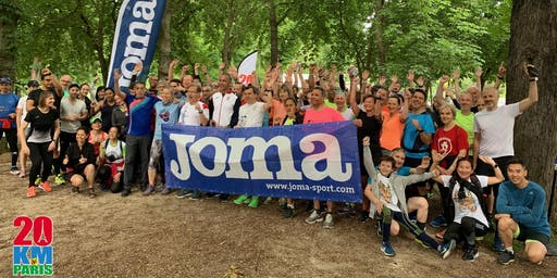 Entrainement n°12 des 20km de Paris by Joma - Orange
