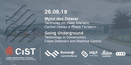 Going Underground: Digital Technology in Construction tickets