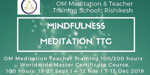 OM Worldwide Meditation Teacher Training 100hrs Rishikesh