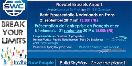 SkyWay Capital présentation en français tickets